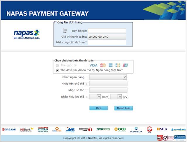 Các chủ thẻ Napas thỏa thích mua sắm online và thanh toán nhanh chóng