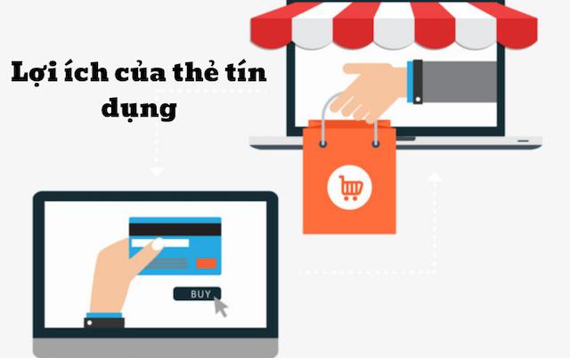 Sở hữu thẻ tín dụng, bạn có thể thỏa thích mua sắm nhanh chóng, dễ dàng