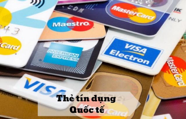Thẻ Credit Card quốc tế có thể sử dụng được cả trong và ngoài nước