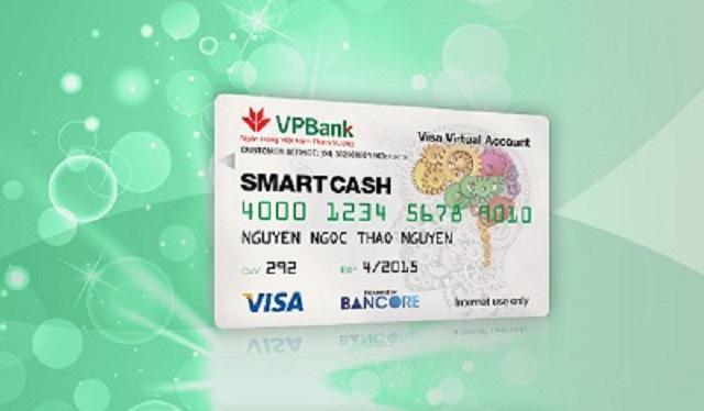 Thẻ visa ảo không tốn phí quản lý
