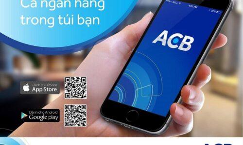 Hướng dẫn đăng ký và sử dụng mobile banking ACB online