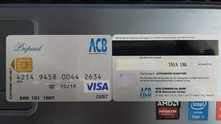 Đặc điểm của thẻ visa debit