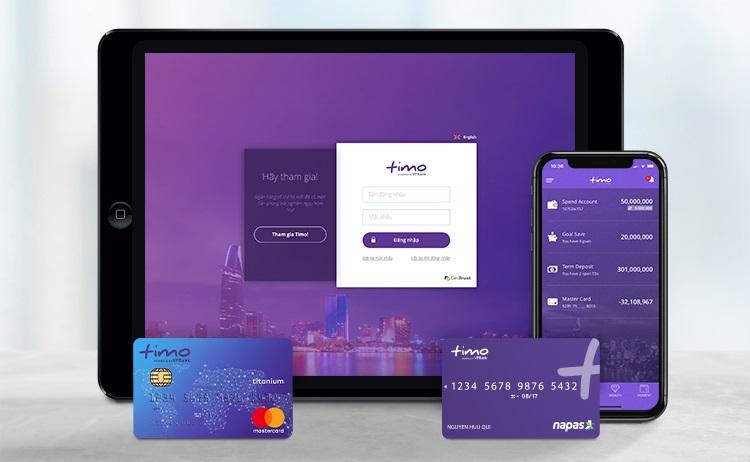 Đăng ký làm thẻ Timo online trên website và ứng dụng