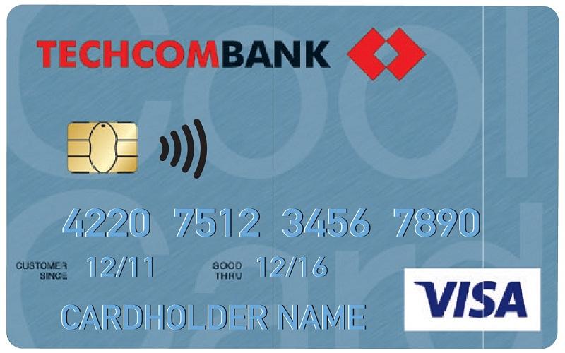 Mặt trước thẻ tín dụng quốc tế