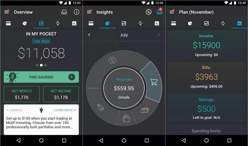 Quản lý chi tiêu hàng ngày và kiểm soát dòng tiền với Pocket Guard