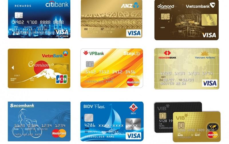 Rất nhiều ngân hàng hỗ trợ phát hành thẻ tín dụng
