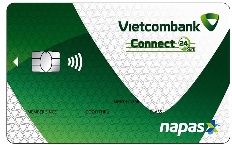 Thẻ ghi nợ ngân hàng Vietcombank