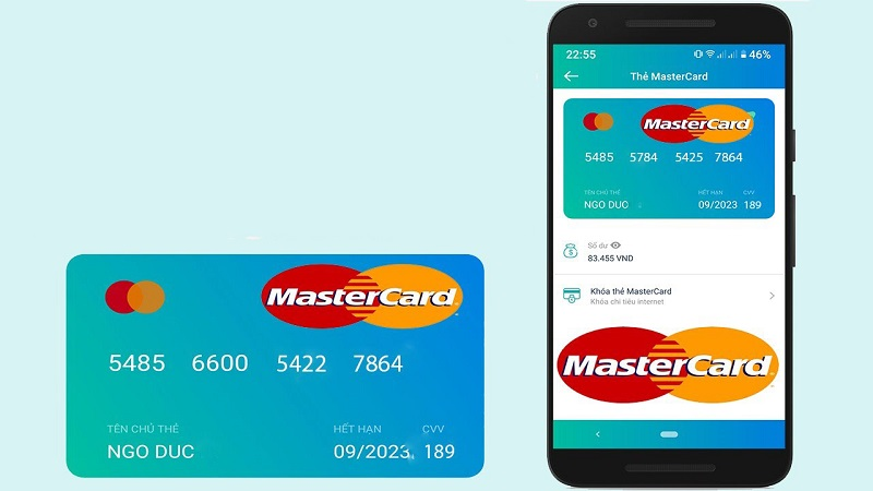 Thẻ mastercard ảo