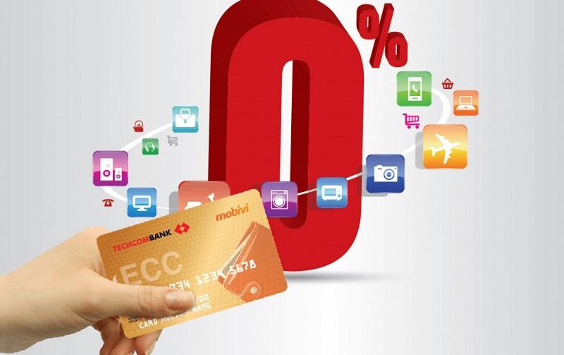 Thẻ tín dụng được hưởng ưu đãi khi mua trả góp