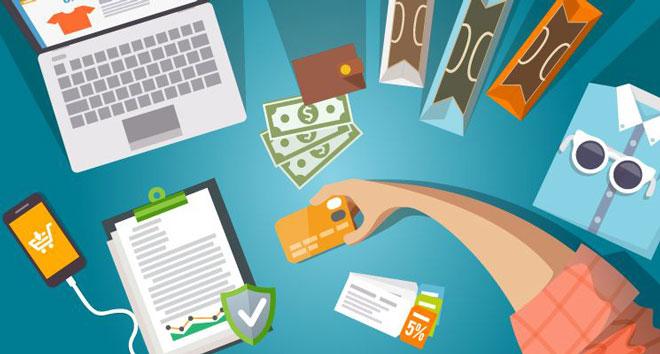 Thẻ visa debit hỗ trợ khách hàng thanh toán, mua sắm với phạm vi quốc tế