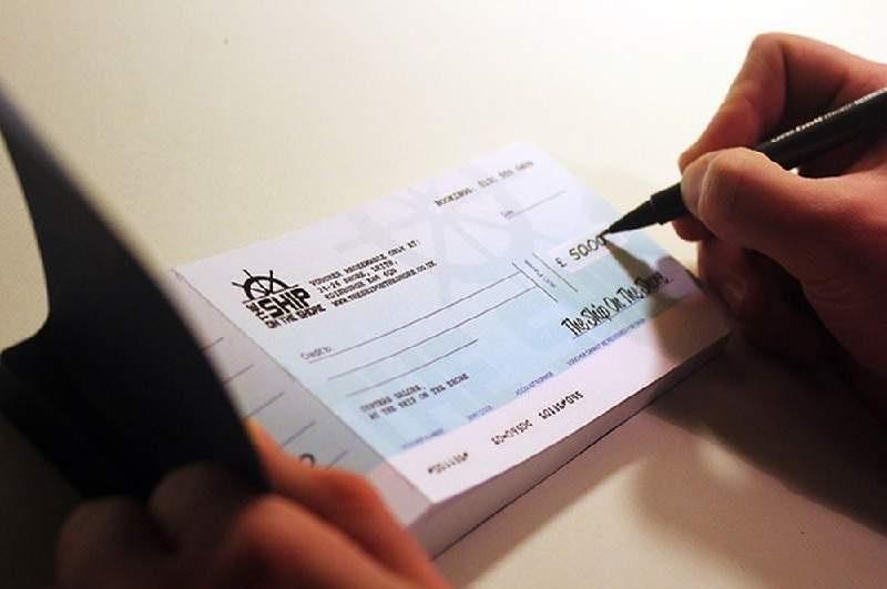 Thủ tục bảo chi séc sử dụng tiền kí quỹ