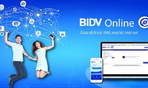 Hướng dẫn các bước gửi tiết kiệm online BIDV