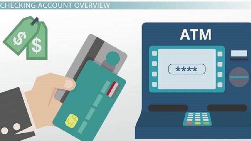Các hình thức sử dụng Checking account phụ thuộc vào khu vực