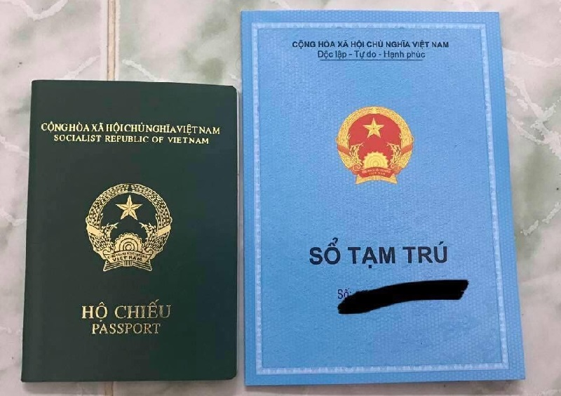 Có thể cấp hộ chiếu từ sổ tạm trú KT3