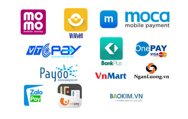 Dịch vụ TopUp được cung cấp và phân phối bởi các ngân hàng và ví điện tử
