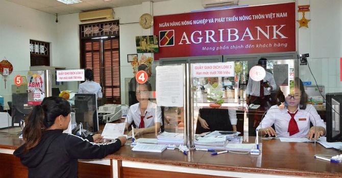 Giờ làm việc của ngân hàng Agribank