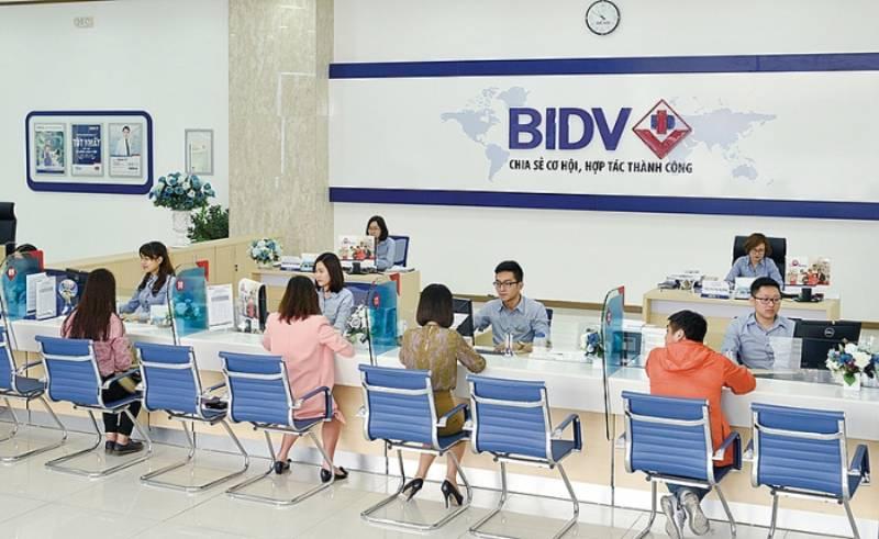 Giờ và lịch làm việc của ngân hàng BIDV