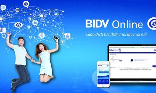 Cách đăng ký sử dụng internet banking BIDV