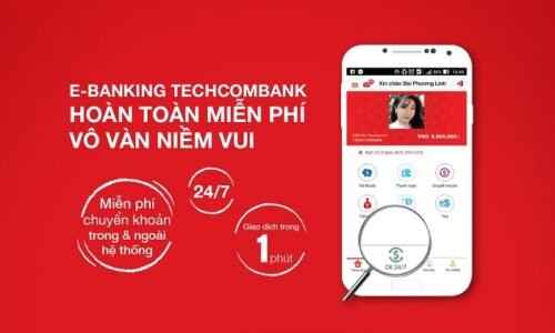 Cách đăng ký và sử dụng Techcombank internet banking