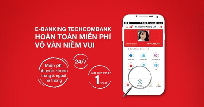 Internet banking Techcombank là gì?