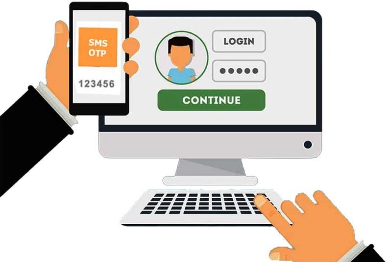 Mã OTP được gửi về điện thoại khi thực hiện giao dịch
