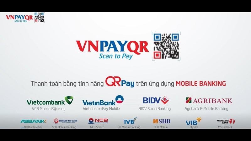 Một số ngân hàng tích hợp cổng thanh toán VNPAY trên mobile banking