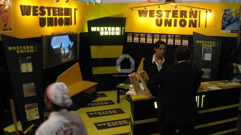 Khách hàng giao dịch cần tới đại lý của Western Union