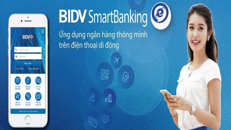 Thao tác gửi tiết kiệm online trên BIDV Smart Banking