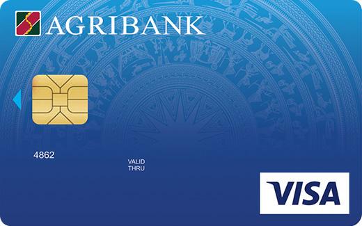 Thẻ Agribank visa standard