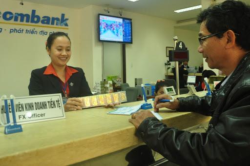 Thời gian làm việc của ngân hàng Sacombank