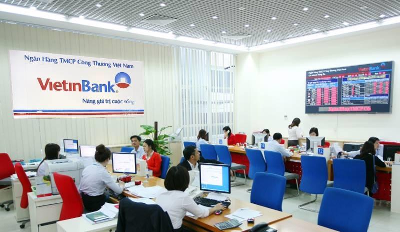 Thời gian làm việc tại ngân hàng Vietinbank