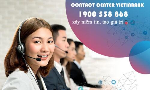 Những tiện ích của hotline VietinBank