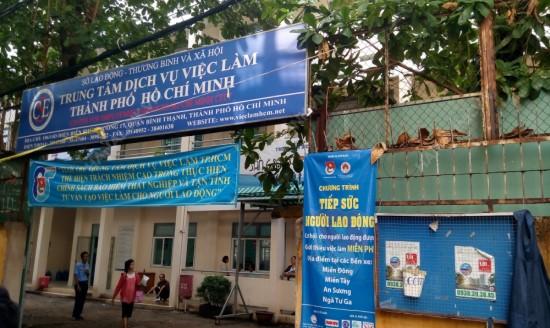 Trung tâm dịch vụ việc làm quận Bình Thạnh, TP. Hồ Chí Minh