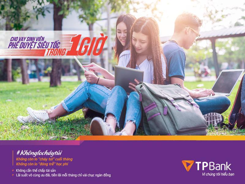 Vay tiền sinh viên tại TPBank