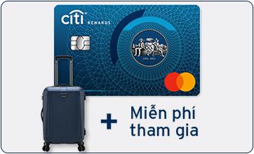 Thẻ Tín Dụng Citi Rewards Visa Platinum