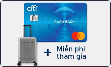 Thẻ tín dụng Citibank Cash Back Mastercard Platinum