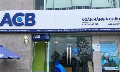 Giờ làm việc ngân hàng ACB năm 2021