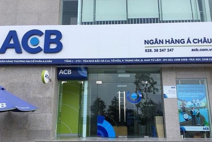 Giờ làm việc của ngân hàng ACB