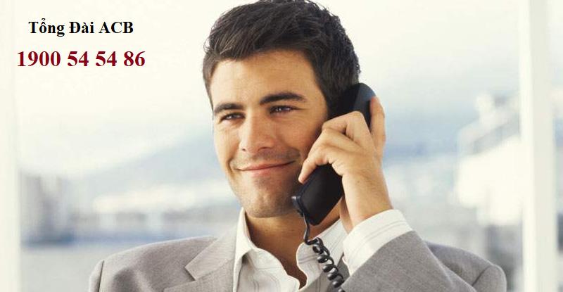 Liên hệ theo hotline ACB để có thể nhận được tư vấn kịp thời
