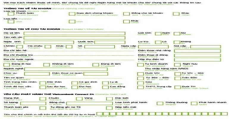 Giấy xác nhận tài khoản ngân hàng là tài liệu cần thiết để xin được visa