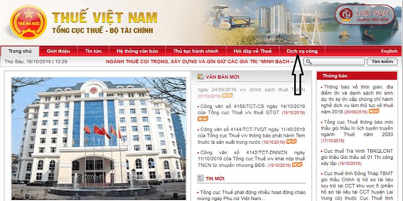 Trang web chính thức để tra chứng minh nhân dân online