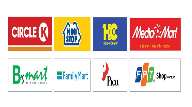 Thanh toán thẻ tín dụng Shinhan tại các cửa hàng có liên kết với Payoo