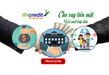 Mcredit - Cho vay tiền mặt lãi suất hấp dẫn