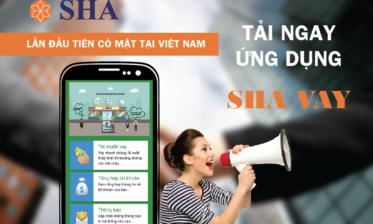 SHA - Vay tiền trên điện thoại
