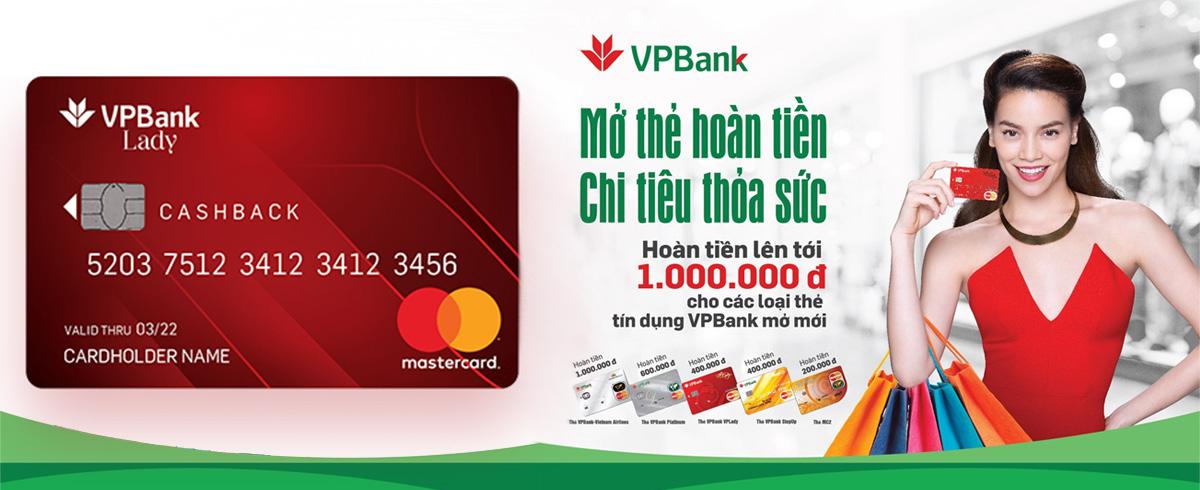 Thẻ tín dụng VP Bank