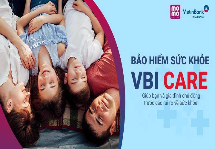 VietinBank - Bảo hiểm sức khỏe VBI CARE