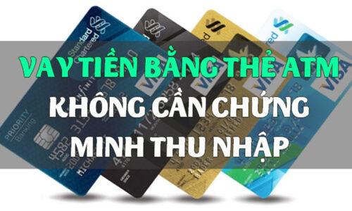 Hướng dẫn vay tiền qua thẻ ATM