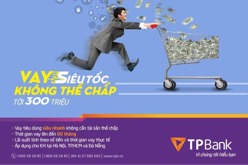 Vay tín chấp TPBank được nhiều người sử dụng