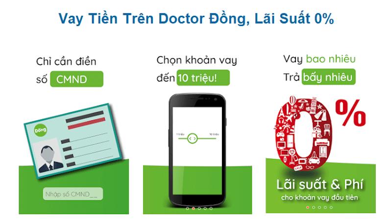 Điều kiện vay tín chấp Doctor Đồng
