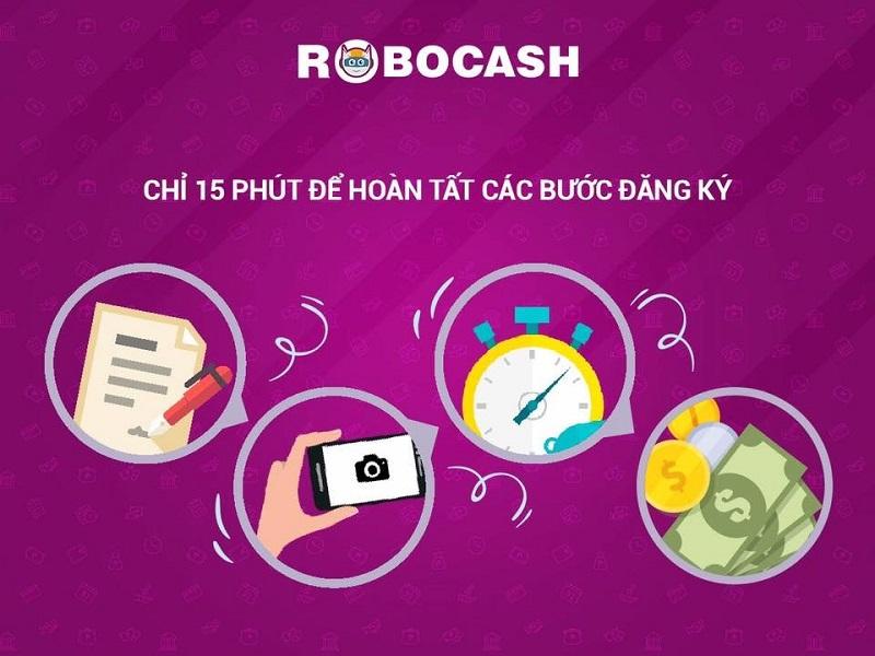 Hướng dẫn chi tiết các bước đăng ký vay tiền Robocash